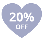 20% off for charities