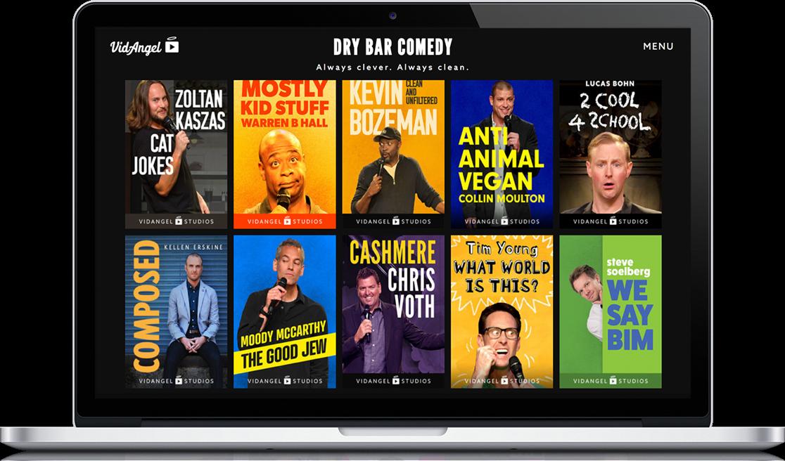 Dry Bar Comedy Macbook