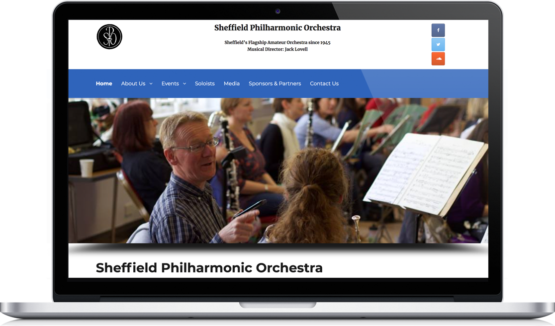 Sheffield Philharmonic Orchestra Macbook
