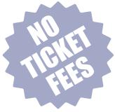 No ticket fees